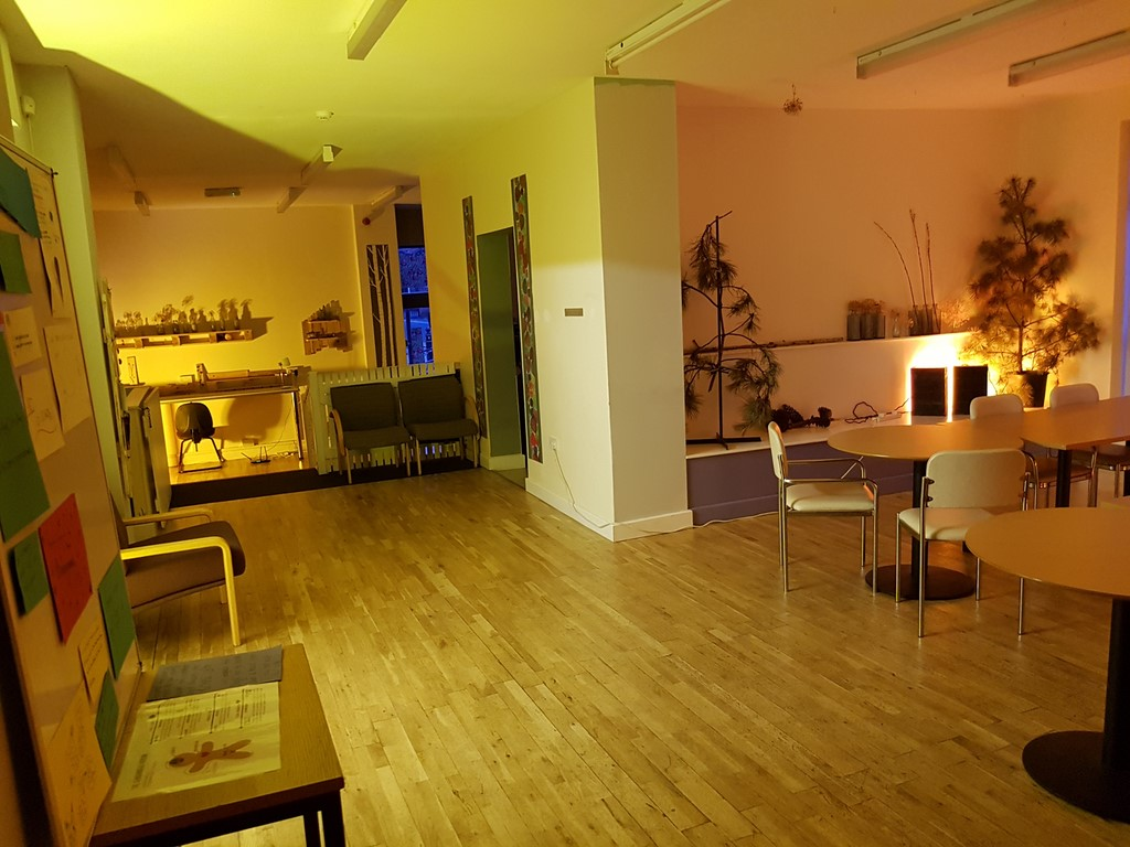 Interior view of The Space Stockport